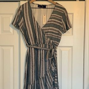 Francesca NWT striped Dress